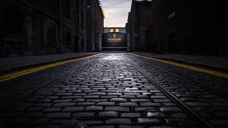 The Guinness Store House and Guinness Factory St James Gate Dublin